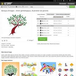 Arbre Généalogique, Illustration De Parents Clip Art Libres De Droits , Vecteurs Et Illustration. Image 9322086.