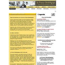 La France Généalogique : aide aux recherches en généalogie