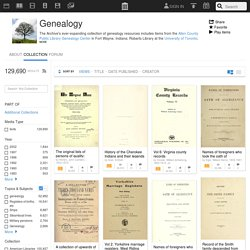 Genealogy : Free Texts