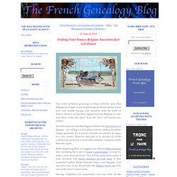 Finding Your Franco-Belgian Ancestors Just Got Easier