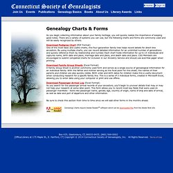 Genealogy Getting Started