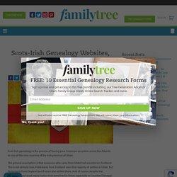 Scots-Irish Genealogy Websites, Books and Organizations