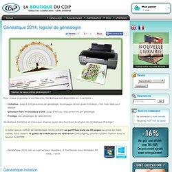 CDIP Boutique - Logiciel de Généalogie et Scrapbooking