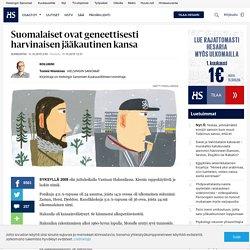 Suomalaiset ovat geneettisesti harvinaisen jääkautinen kansa - Maahanmuutto - Sunnuntai