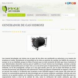 GENERADOR DE GAS HIDROXI