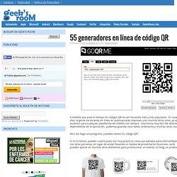 55 generadores en línea de código QR