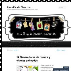 14 Generadores de cómics y dibujos animados