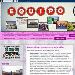 El blog de nuestra clase : Generadores de material educativo.