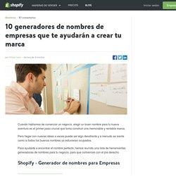 Generadores de nombres para empresas en español