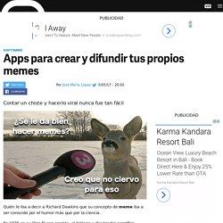 Generadores de memes para crear y compartir en tu smartphone