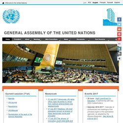 General Assembly - United Nations