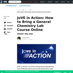 How to Bring a General Chemistry Lab Course Online