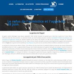 L'appel du 18 juin du général de Gaulle - Fondation Charles de Gaulle