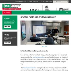 GENERAL PARTS GROUP'S TRAINING ROOMS