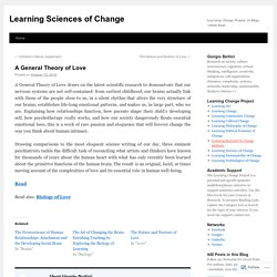 Learning Sciences of Change