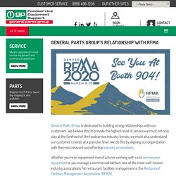 GENERAL PARTS GROUP'S RELATIONSHIP WITH RFMA