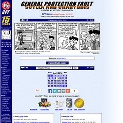 General Protection Fault--The Comic Strip