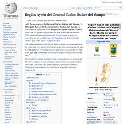 Región Aysén del General Carlos Ibáñez del Campo