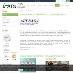Generales - Federación Andaluza de Tiro Olímpico