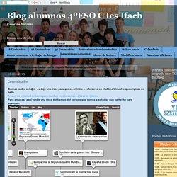 Blog alumnos 4ºESO C Ies Ifach: Generalidades/Actualidad