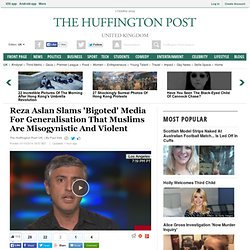Reza Aslan Slams 'Bigoted' Media For Generalisation That Muslims Are Misogynistic And Violent