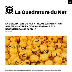La Quadrature du Net attaque l'application ALICEM, contre la généralisation de la reconnaissance faciale