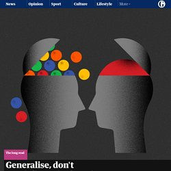 Generalise, don't specialise: why focusing too narrowly is bad for us