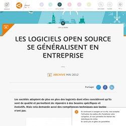 Les logiciels Open Source se généralisent en entreprise