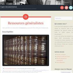 Ressources généralistes