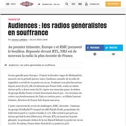 Audiences : les radios généralistes en souffrance