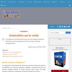 16) Généralités sur le verbe