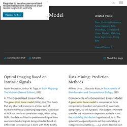 Generalized Linear Model - an overview