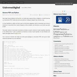 Universo Digital » Generar PDF con Python