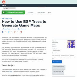 How to Use BSP Trees to Generate Game Maps