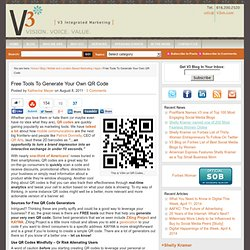Free Tools to Generate Your Own QR Code