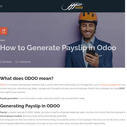 How to Generate Payslip in Odoo