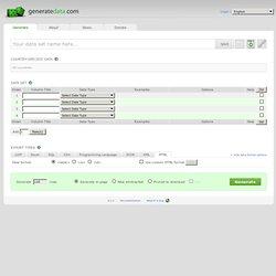 generatedata.com