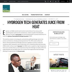 Hydrogen Tech Generates Juice from Heat