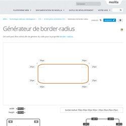 Générateur de border-radius