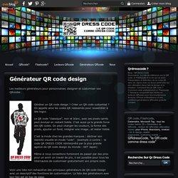 Générateur QR code design