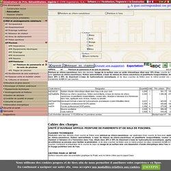 Prix en Algérie de m² de Peinture de parements et de sols de piscines. Générateur de prix de la construction. CYPE Ingenieros, S.A.