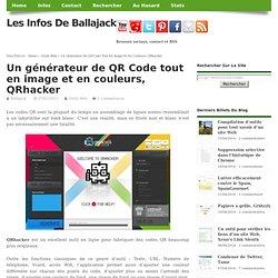 Un générateur de QR Code tout en image et en couleurs, QRhacker