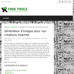 Générateur d'images pour vos créations Internet