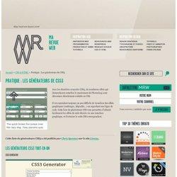 Générateur CSS3