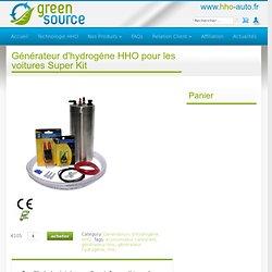 Générateur d'hydrogène HHO pour les voitures Super Kit