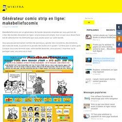 Générateur Comic Strip en ligne: MakeBeliefsComix
