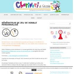 Générateur de jeu de Dobble personnalisé – Charivari à l'école