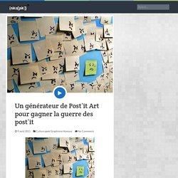 {niKo[piK]}: Un générateur de Post'it Art pour gagner la guerre des post'it