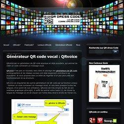 Générateur QR code vocal : QRvoice