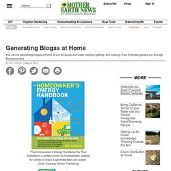 Generating Biogas at Home - Renewable Energy